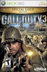 Call Of Duty 3 Gold Edition for Xbox 360