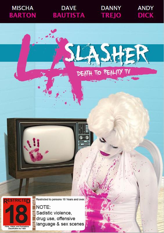 LA Slasher on DVD