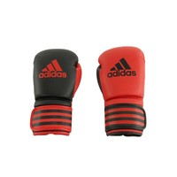 ADIDAS Duo Power 200 Boxing Glove (Black/Red 18oz)