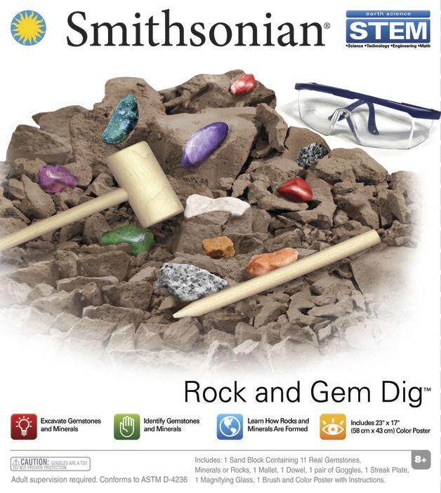 Smithsonian: Rock & Gem Dig