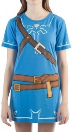 Zelda Link Cosplay Tunic Dress - Large