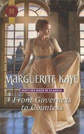 From Governess to Countess by Marguerite Kaye