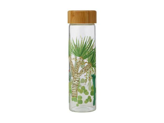 Maxwell & Williams: Royal Botanic Garden Arid Garden Glass Water Bottle - Dracaena (550ml)