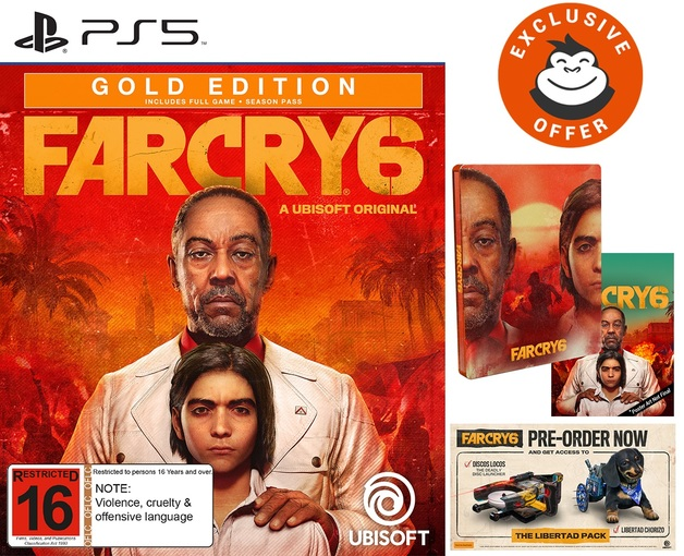 Far Cry 6 Gold SteelBook Edition for PS5