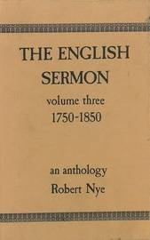 The English Sermon: v. 3: 1750-1850 image