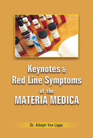 Keynotes and Rodline Symptoms of Materia Medica by A.Von Lippe image