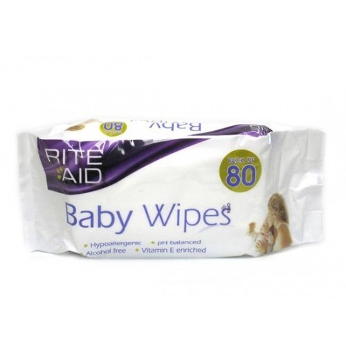 Rite Aid Extra Thick Baby Wipes - 4x80 (360 Wipes)
