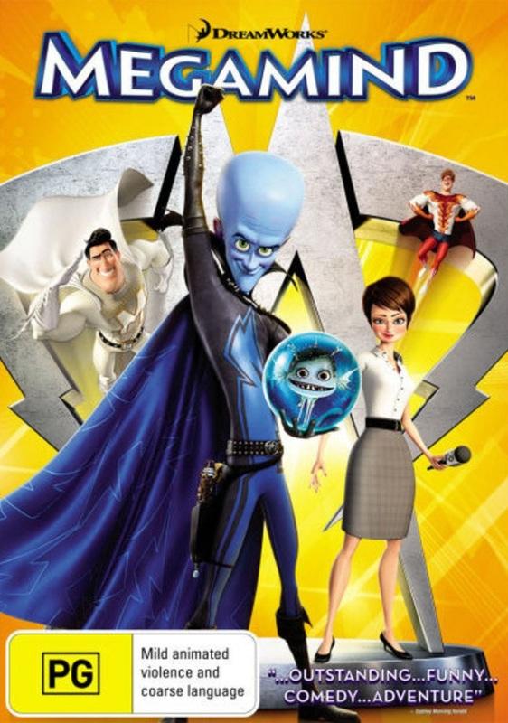 Megamind on DVD