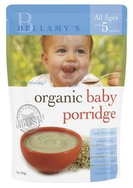 Bellamy's - Organic Baby Porridge (125gm)