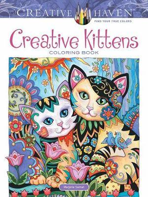Creative Haven Creative Kittens Coloring Book by Marjorie Sarnat image