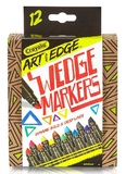 Crayola: Art With Edge - Wedge Markers (12-Pack)