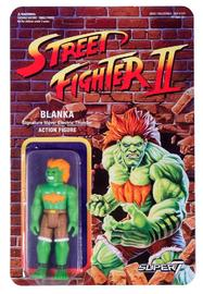 "Street Fighter II: Blanka - 3.75"" Retro Action Figure"