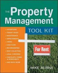 The Property Management Tool Kit by Mike Beirne