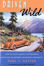 Driven Wild by Paul S Sutter