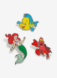 Loungefly: Enamel Pin Set - The Little Mermaid