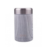 Oasis Stainless Steel Insulated Food Flask - Driftwood (450ml) image