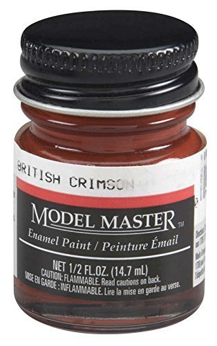 Testors: Enamel Paint - British Crimson (Flat) image