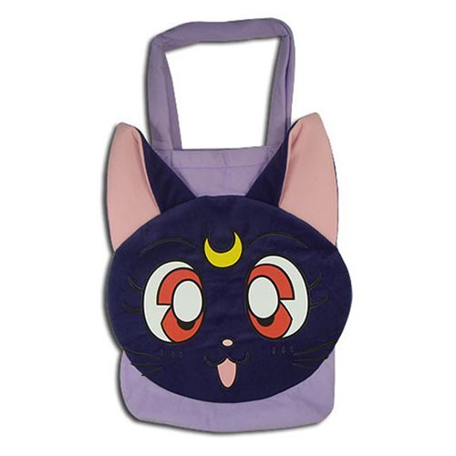 Sailor Moon R Luna Plush Tote Bag
