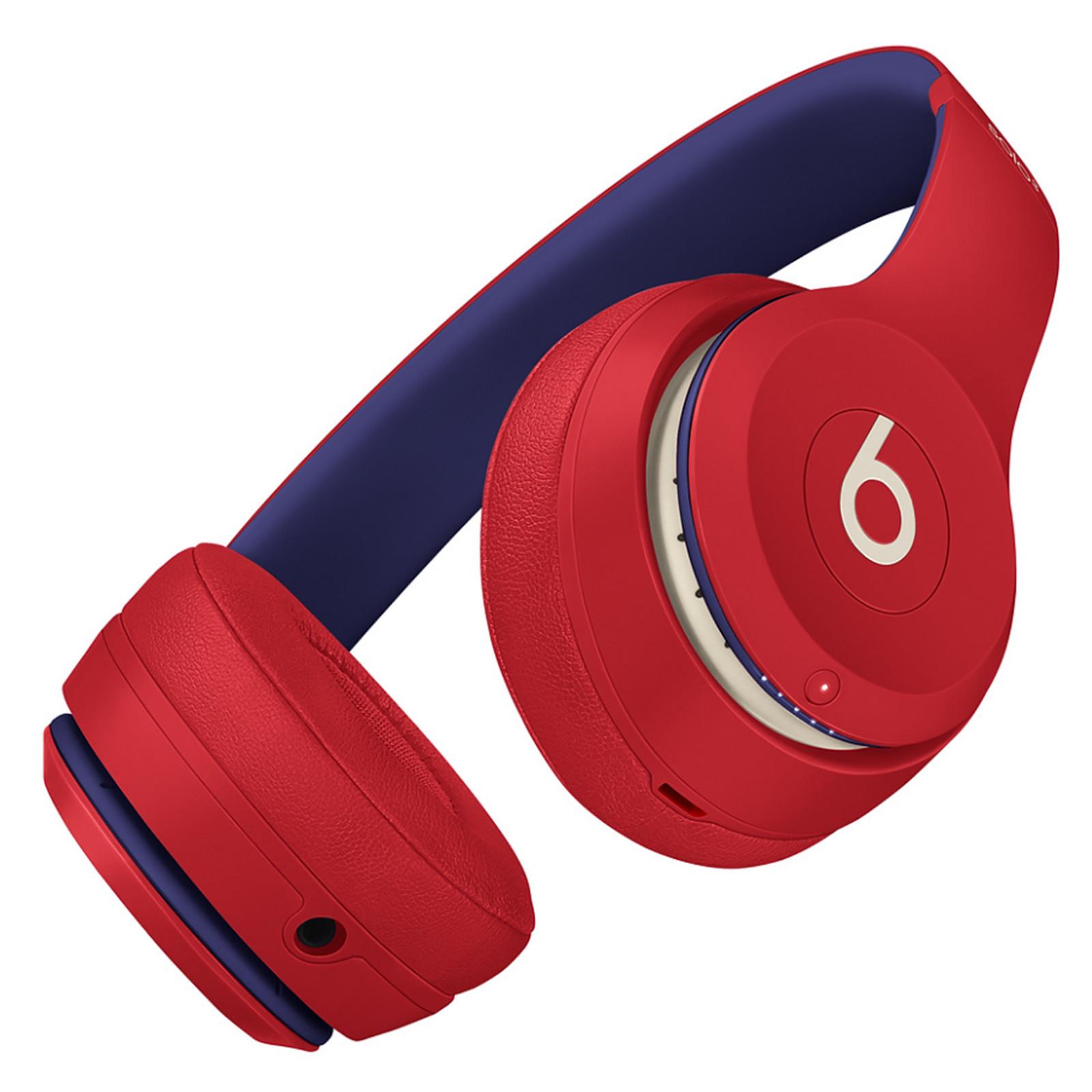 Beats Solo3 Wireless On-Ear Headphones - Club Red image