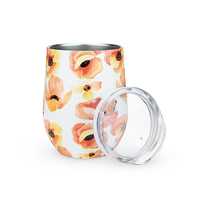 Twine: Garden Party - Poppy Wine Tumbler
