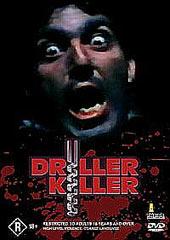 The Driller Killer on DVD