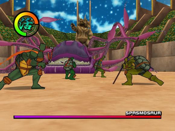Teenage Mutant Ninja Turtles 2: BattleNexus for PlayStation 2 image