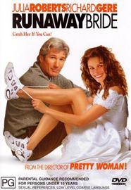 Runaway Bride on DVD image