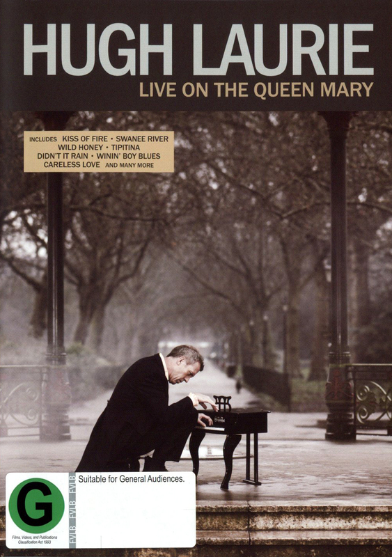 Hugh Laurie - Live on the Queen Mary on DVD
