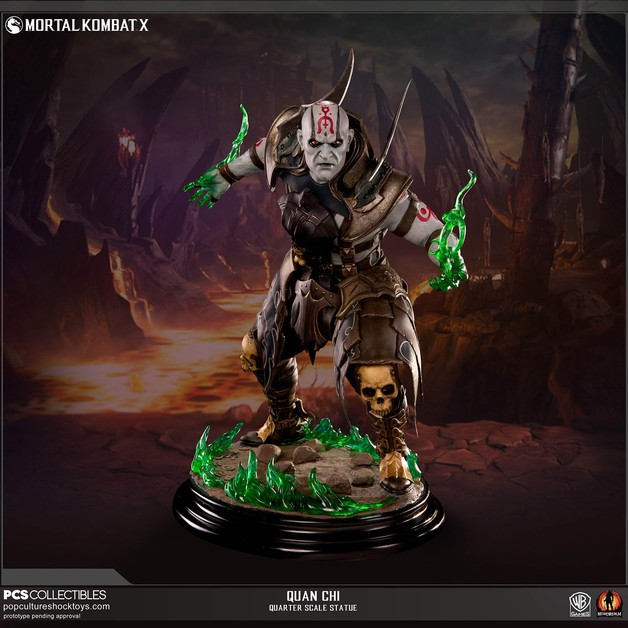 Mortal Kombat X - Quan Chi 1:4 Scale Statue | at Mighty Ape NZ