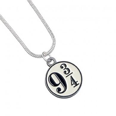 Harry Potter: Pendant & Necklace - Platform 9 3/4 image