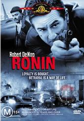 Ronin on DVD