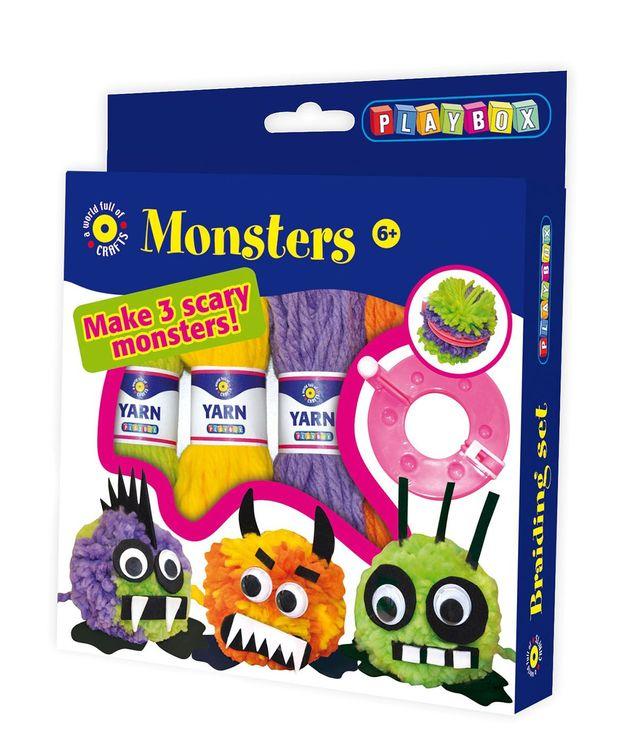 PlayBox Monster PomPoms