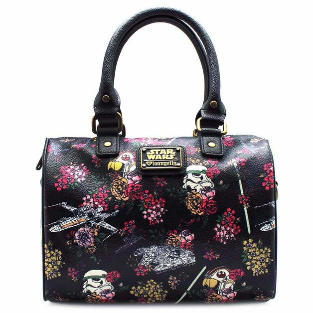 Loungefly Star Wars Stormtrooper Floral Print Duffle