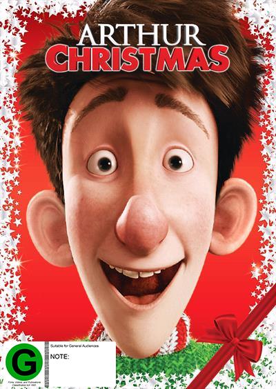 Arthur Christmas on DVD image