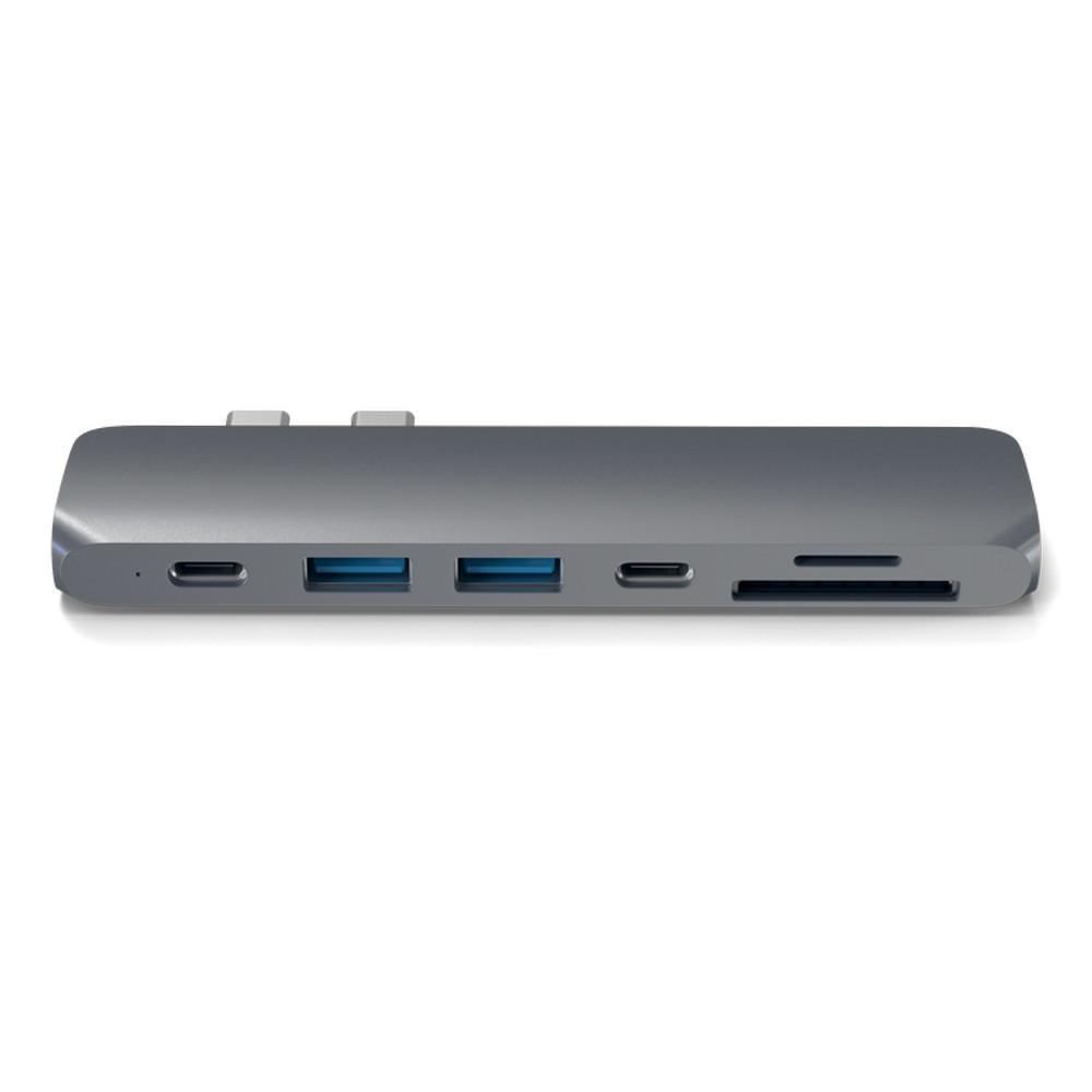 Satechi: Type-C Pro Hub w 4K HDMI & Thunderbolt 3 - Space Grey image