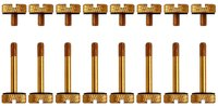Corsair Crystal Series 570X Anodized Aluminum Thumbscrews - Gold