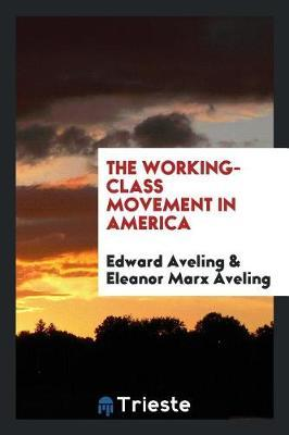 The Working-Class Movement in America by Edward Aveling image
