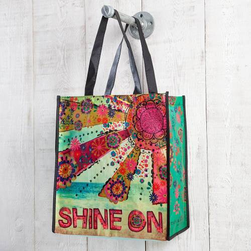 Natural Life: Recycled Gift Bag -Shine On (Large)