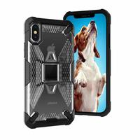 Miesherk: YY phone case for iPhone XS /X - Grey+Black