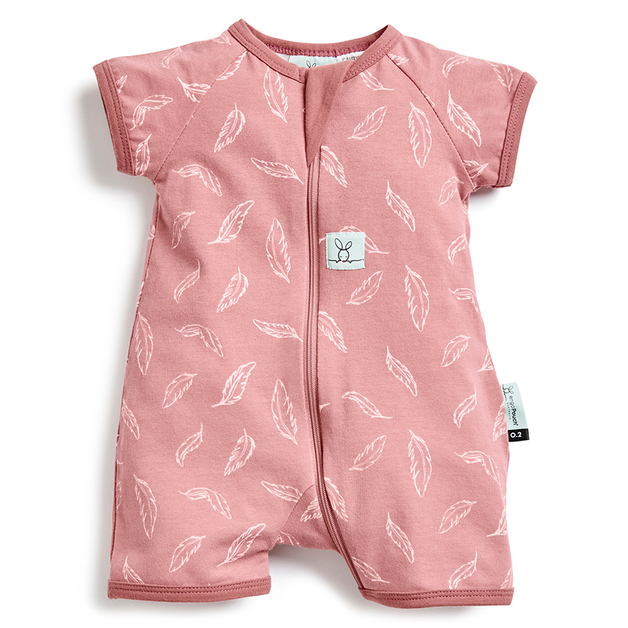 ErgoPouch: 0.2 TOG Short Sleeve Layers - Quill/6-12 months