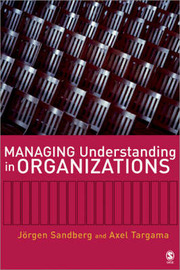 Managing Understanding in Organizations by Jorgen Sandberg