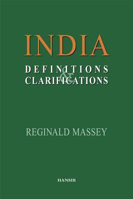 India: Definitions And Clarifications by Reginald Massey image