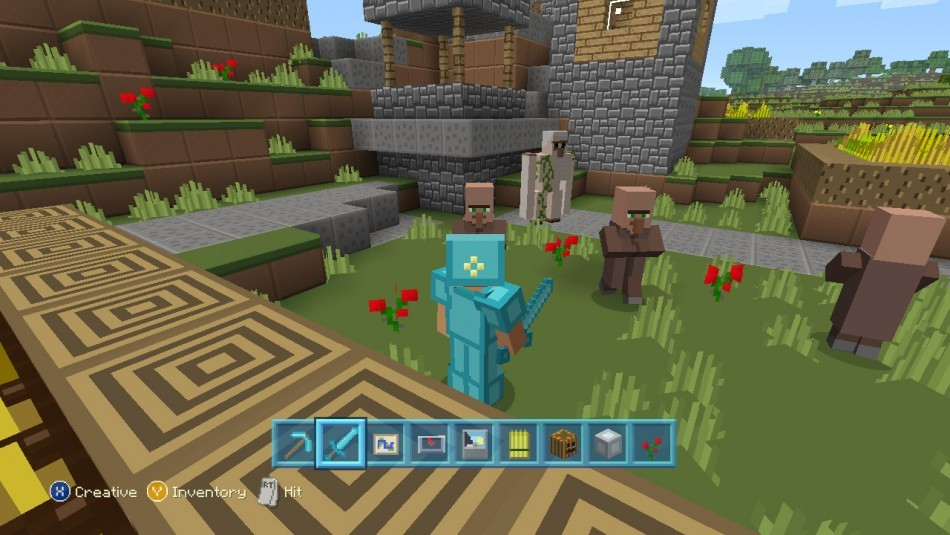 ... Minecraft for PS4 image ...