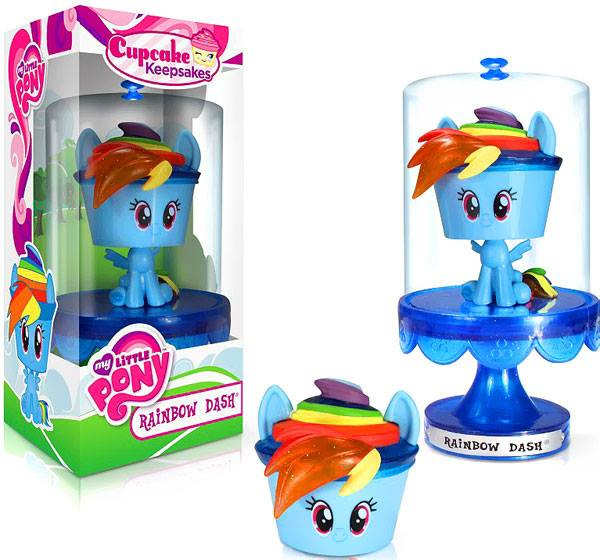 My Little Pony Cupcake Keepsakes Rainbow Dash Vinyl Figure image