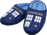 Doctor Who TARDIS Printed Men's Slippers (Size 10)