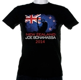 Joe Bonamassa 2014 New Zealand Tour T-Shirt