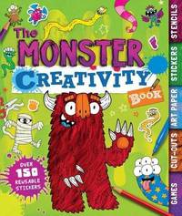 The Monster Creativity Book by Penny Worms image