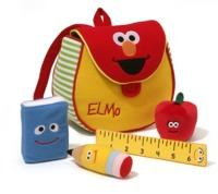 Sesame Street: Elmo Bookbag Playset