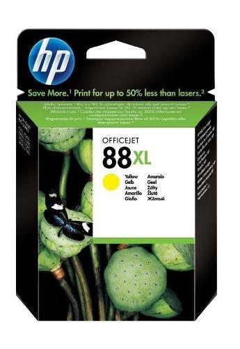 HP 88XL Ink Cartridge C9393A (Yellow)