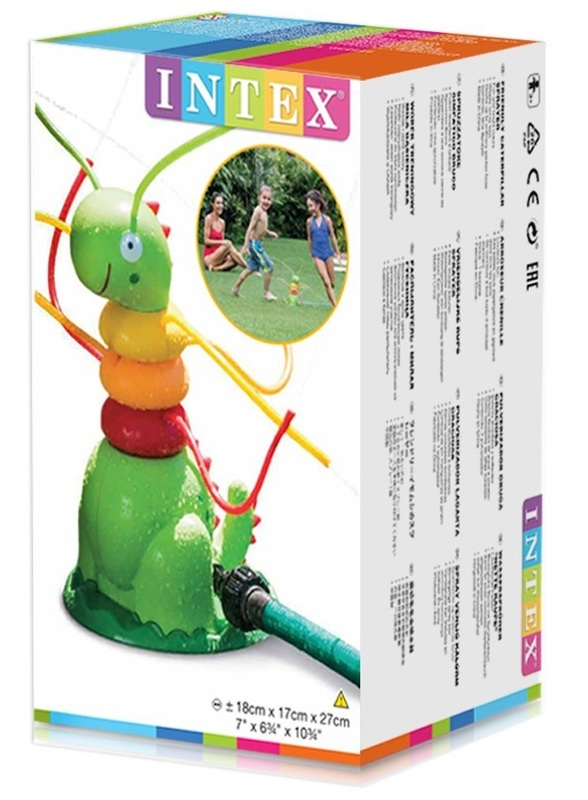 Intex: Friendly Caterpillar Sprayer